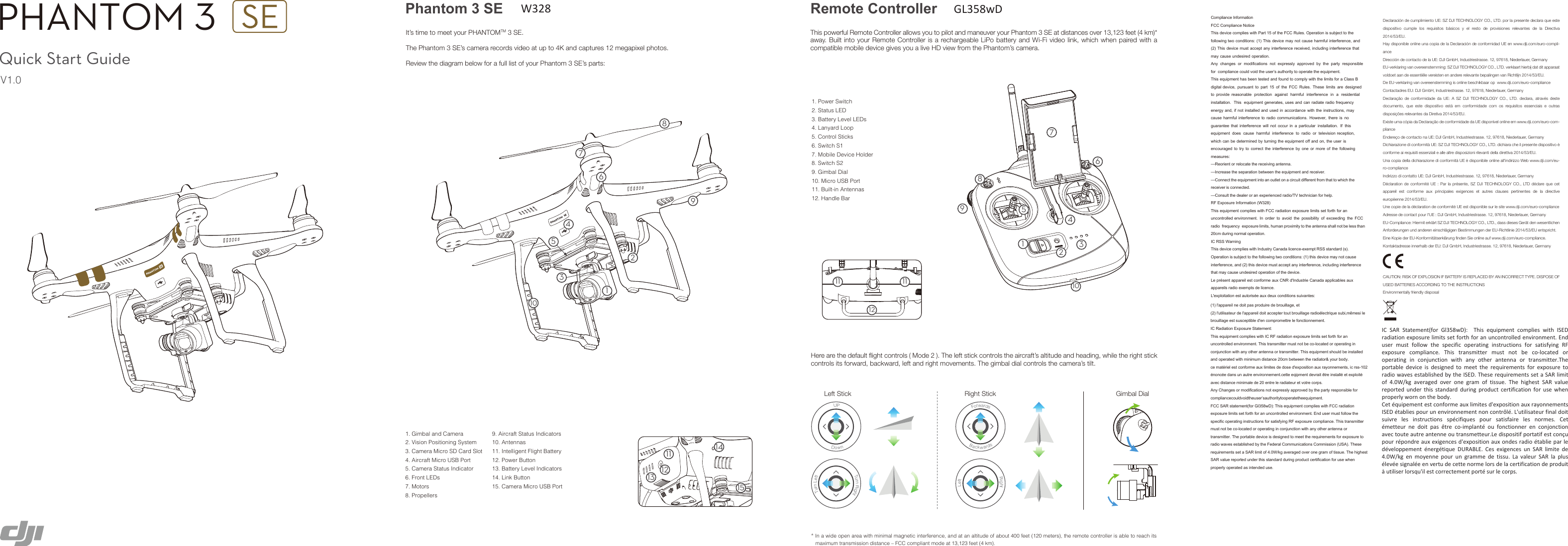 dji phantom standard user manual