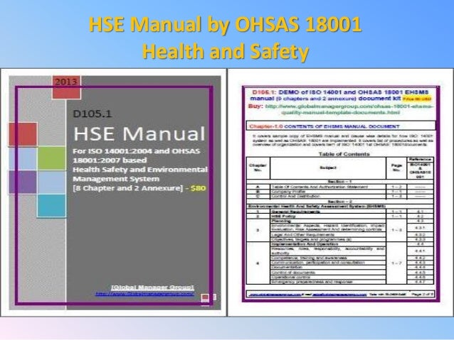 health safety and environment hse manual