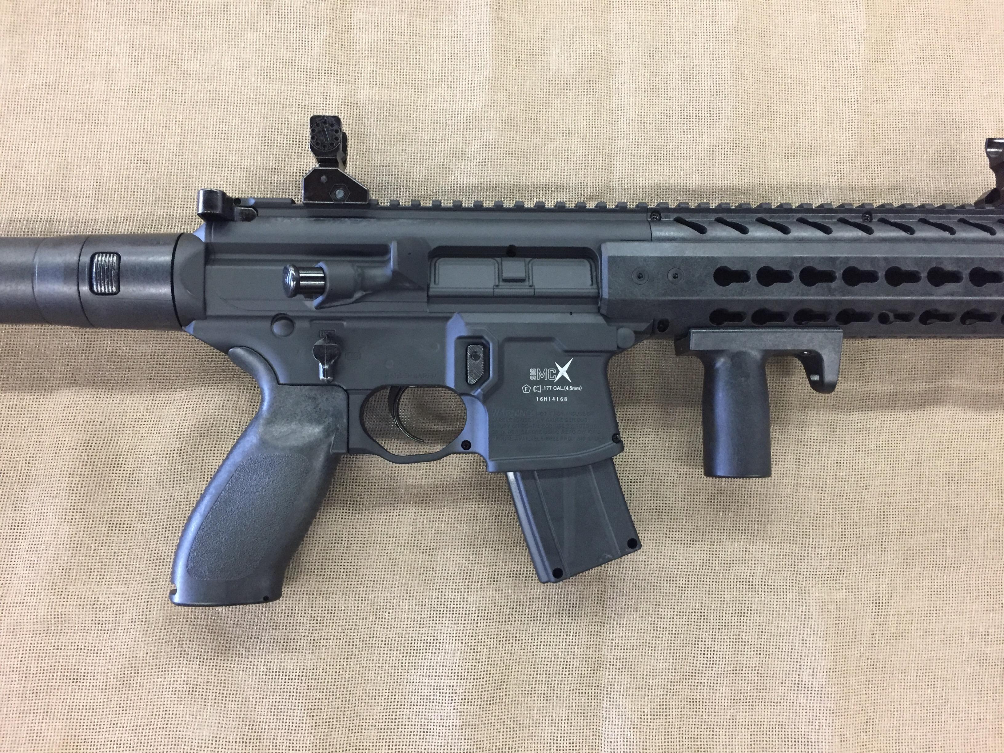 sig sauer mcx air rifle manual