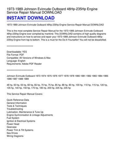 1984 johnson 70 hp outboard manual