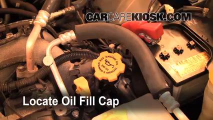 subaru forester manual transmission fluid check