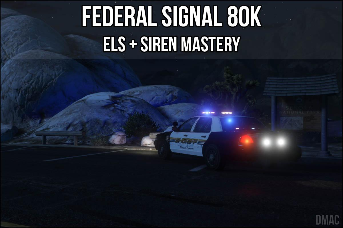 federal signal smart siren ss2000 manual