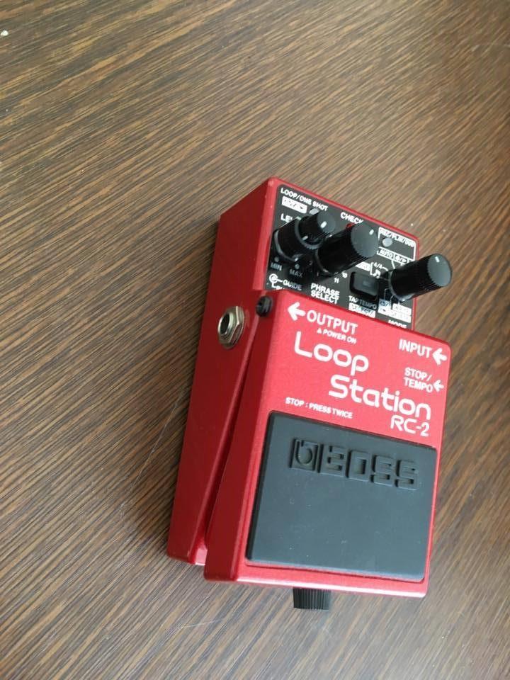 rc2 boss loop station manual