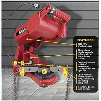 oregon manual chainsaw sharpener video