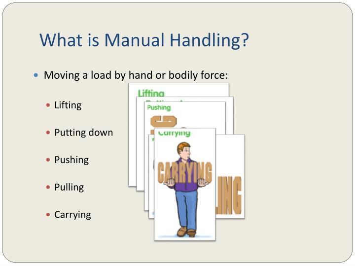 manual handling toolbox talk australia