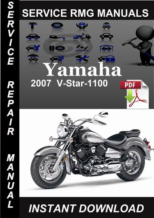 2007 v star 1100 manual
