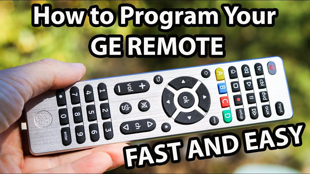 cl4 ge remote manual pdf