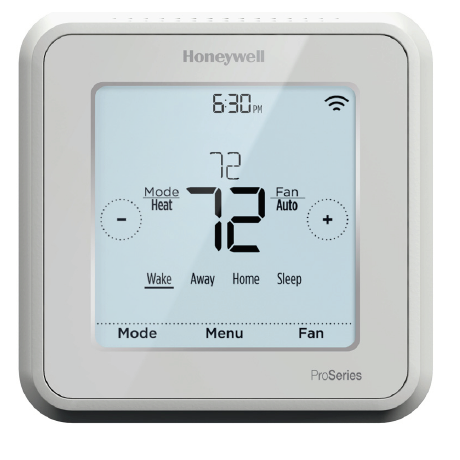 honeywell thermostat user manual th6110d1021