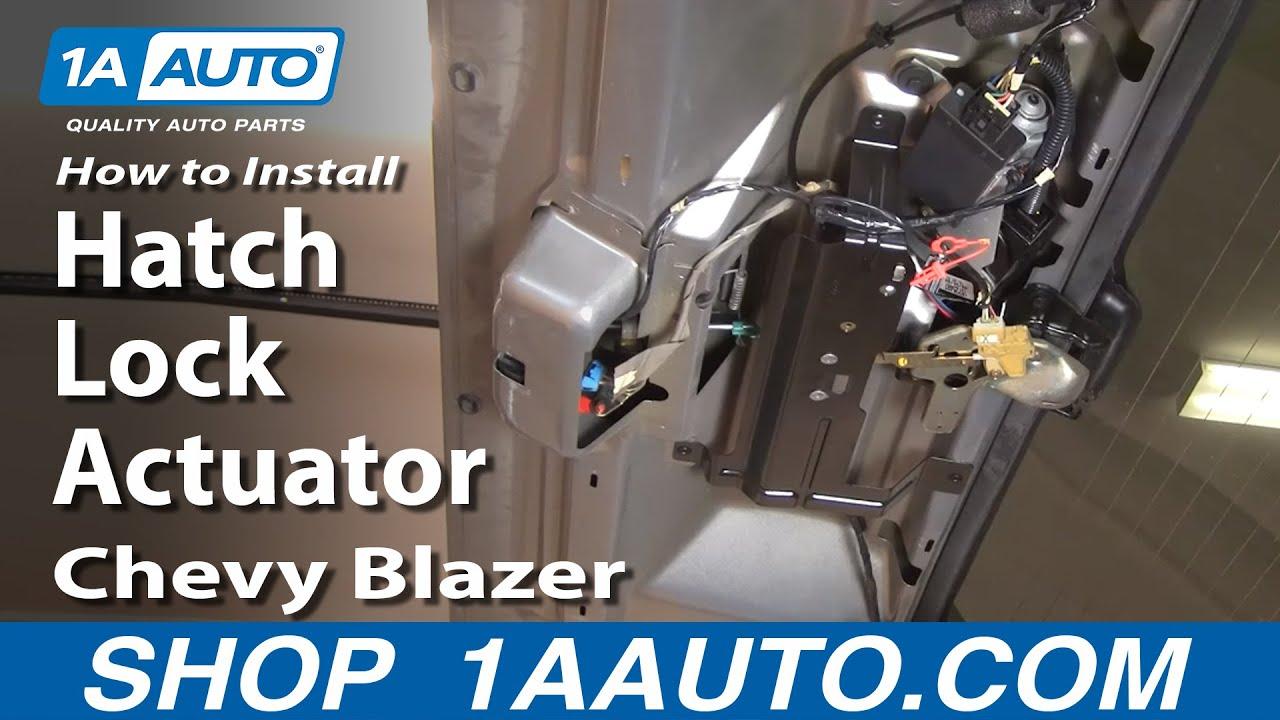 1999 blazer s10 window regulator manual