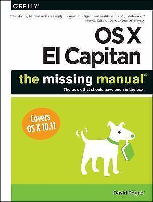 david pogue the missing manual el capitan