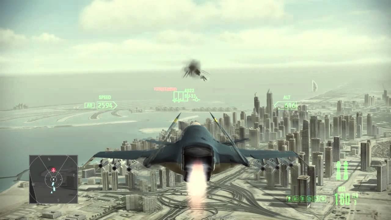 ace combat assault horizon manual pc