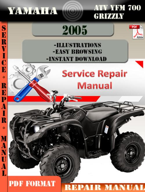2005 yamaha big bear 400 service manual