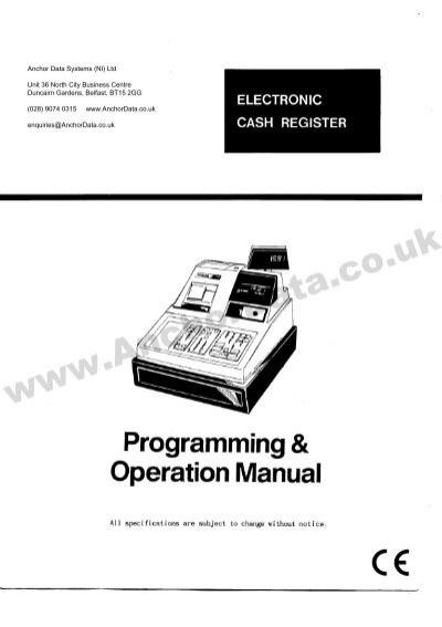 samsung 4915 cash register manual