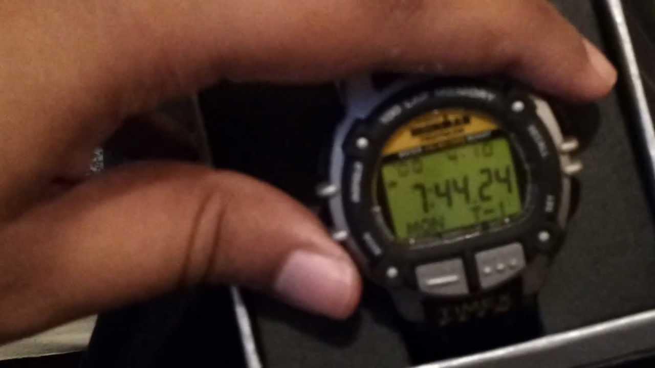 timex data link ironman triathlon manual
