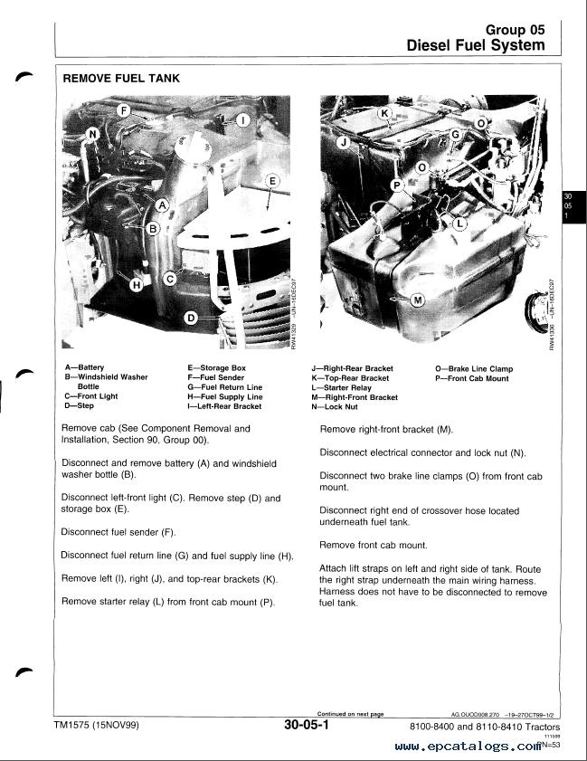 john deere 8200 tractor manual