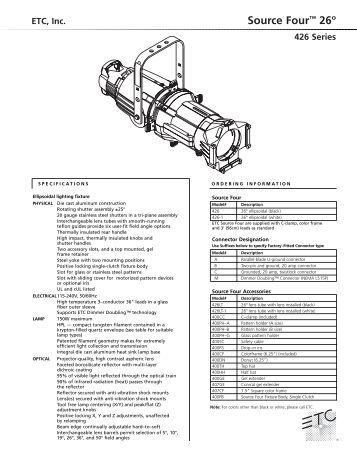 etc source four jr manual
