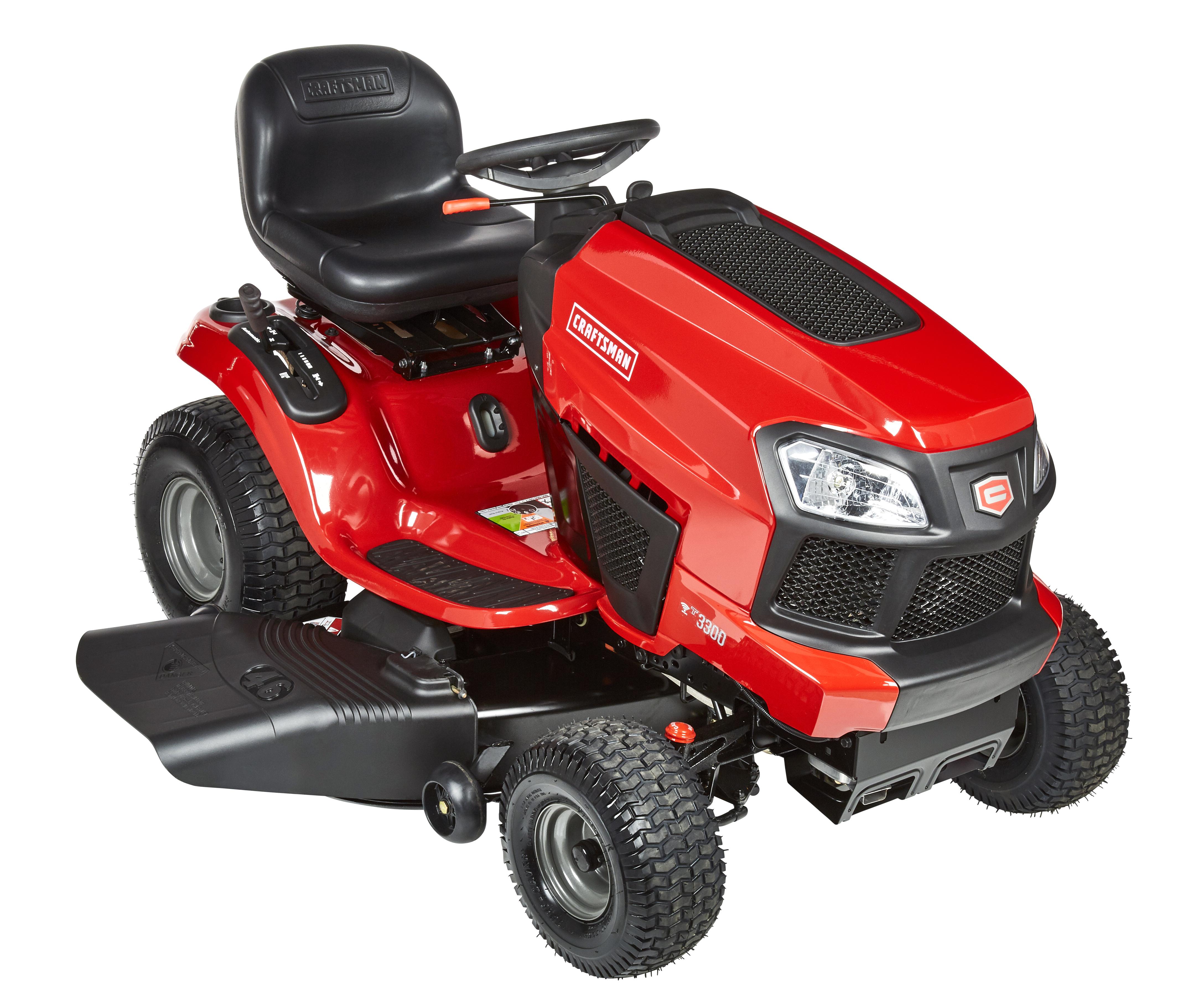 craftsman lawn tractor manual 46 inch