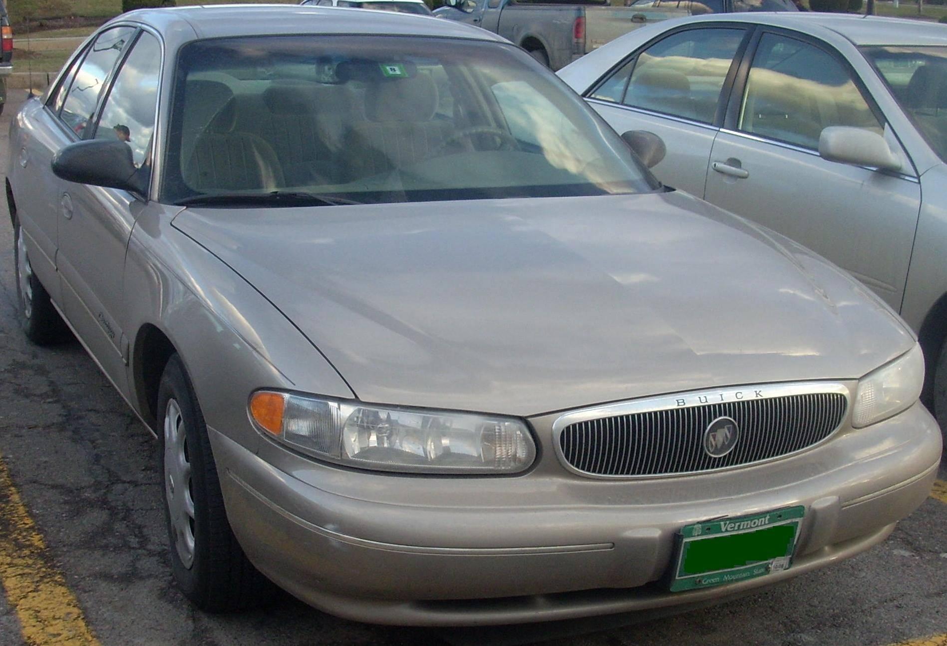 2000 buick century custom manual