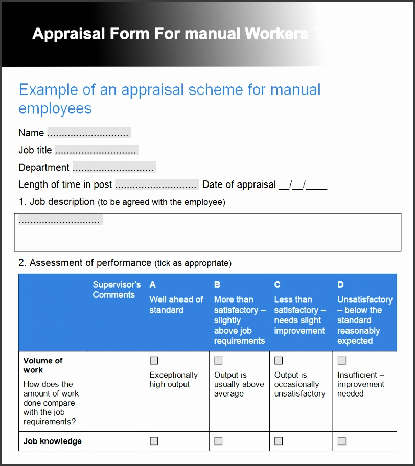 free creating a training manual template