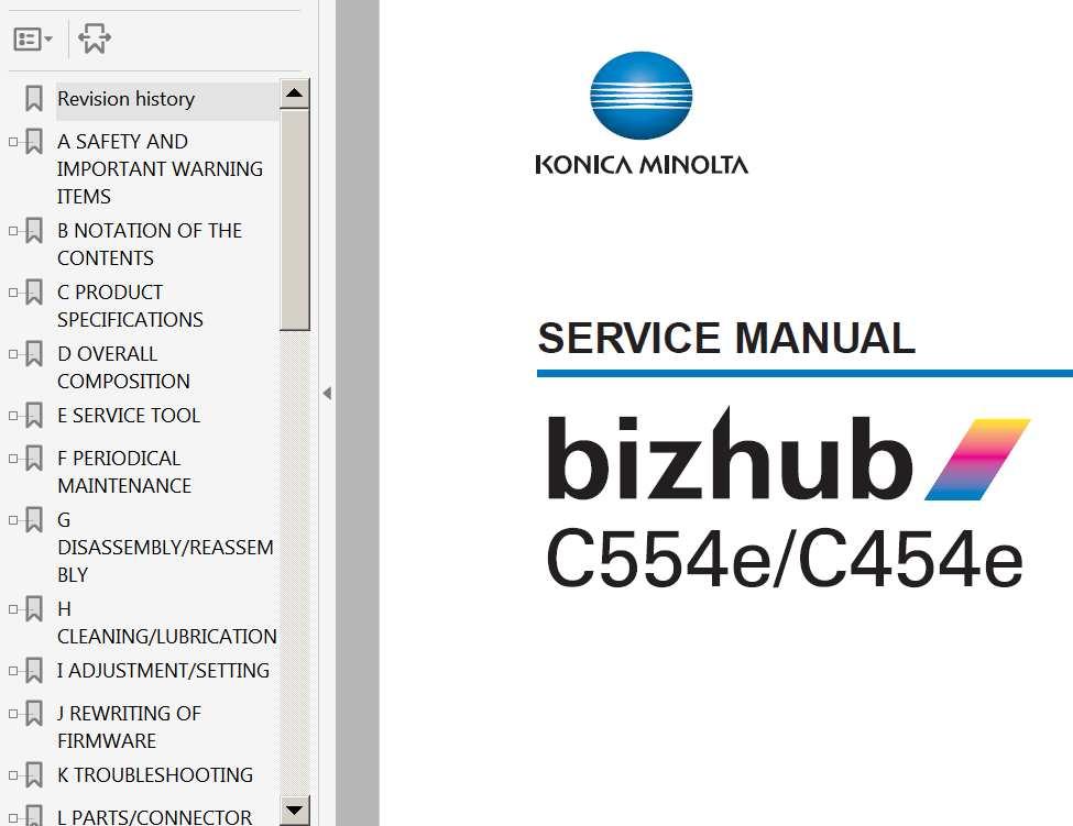 konica minolta bizhub 163 manual
