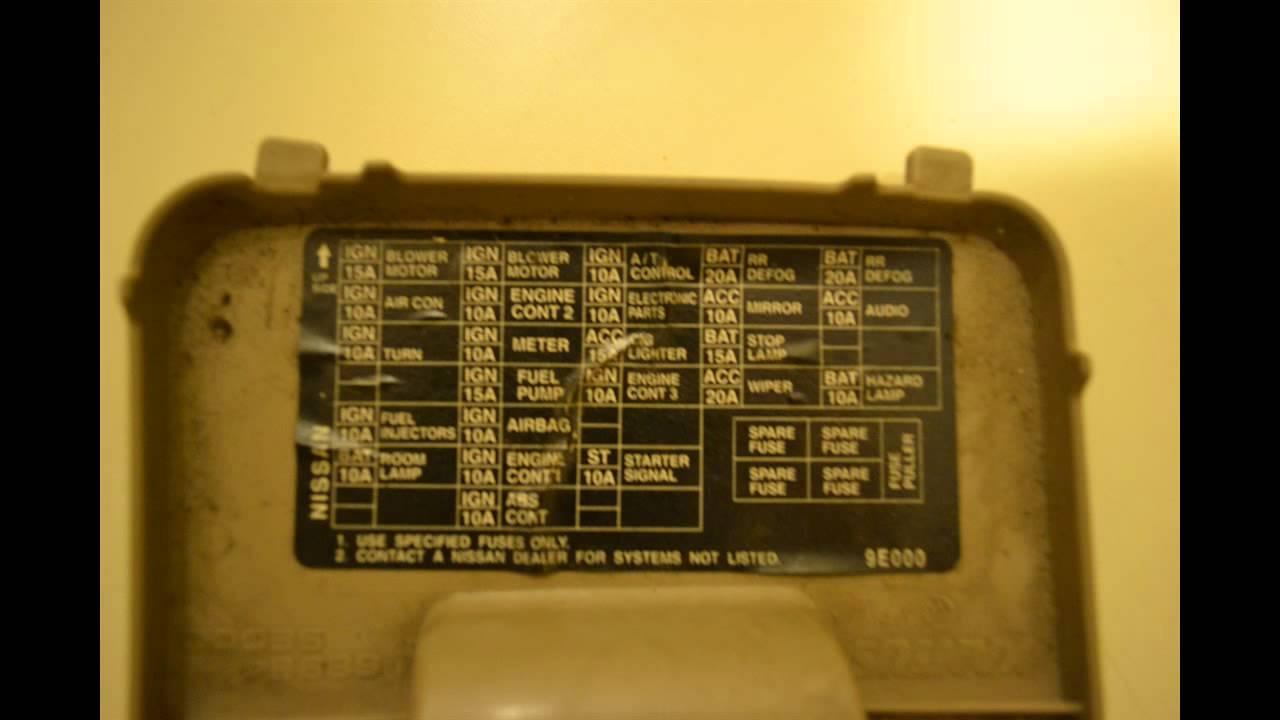 1996 nissan pulsar owners manual