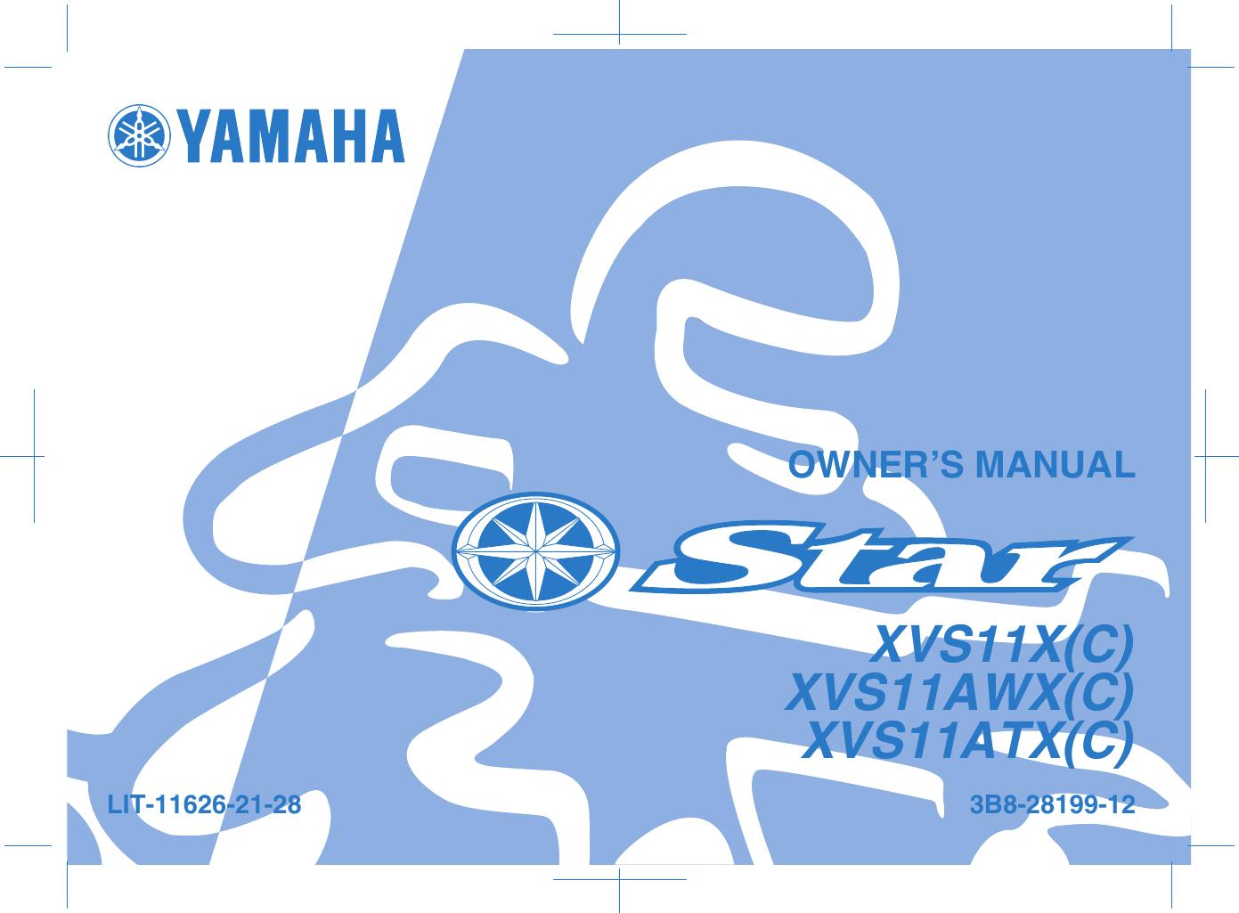 2002 yamaha v star 1100 service manual pdf