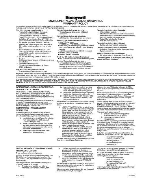 honeywell lyric t5 wi-fi user manual