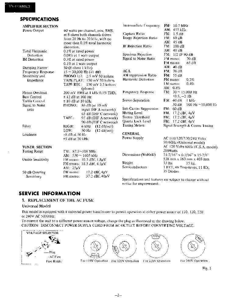 onkyo tx 4500 service manual