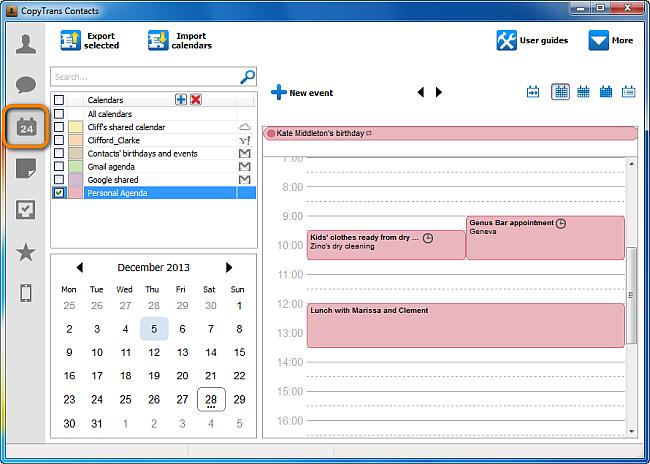 business calendar 2 manual sync