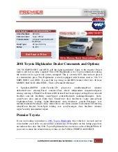 toyota highlander repair manual pdf torrent 2008