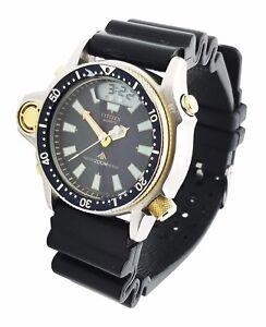 vintage citizen aqualand dive watch manual