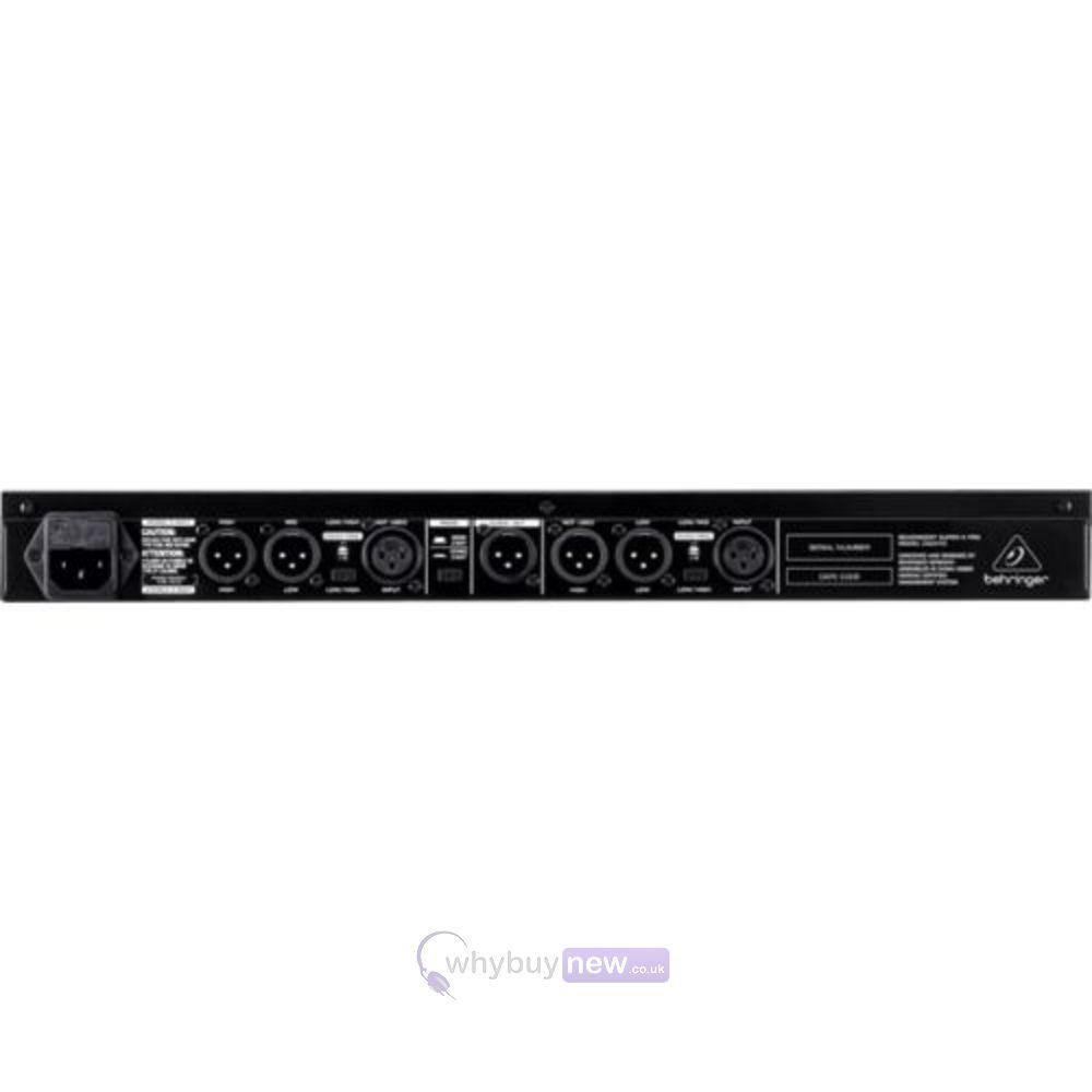 behringer super-x pro crossover cx2310 manual