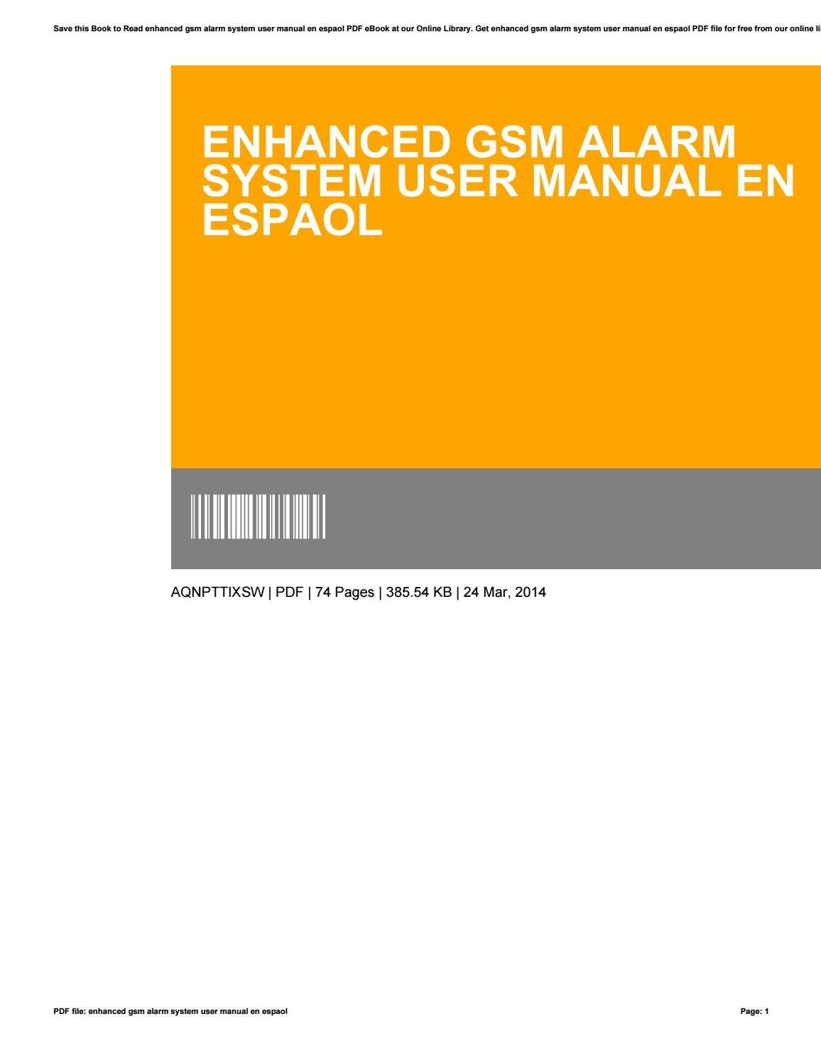 liberty alarm system user manual