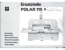 polar mohr eltromat 72 service manual