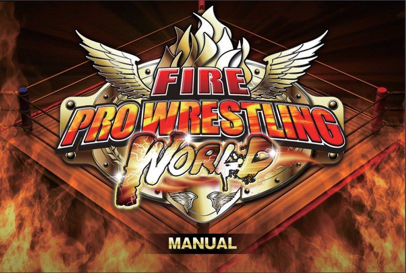 fire pro wrestling world manual