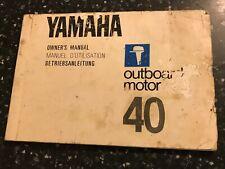 yamaha outboard owners manual australia