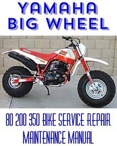 yamaha big bear 350 200 service manual
