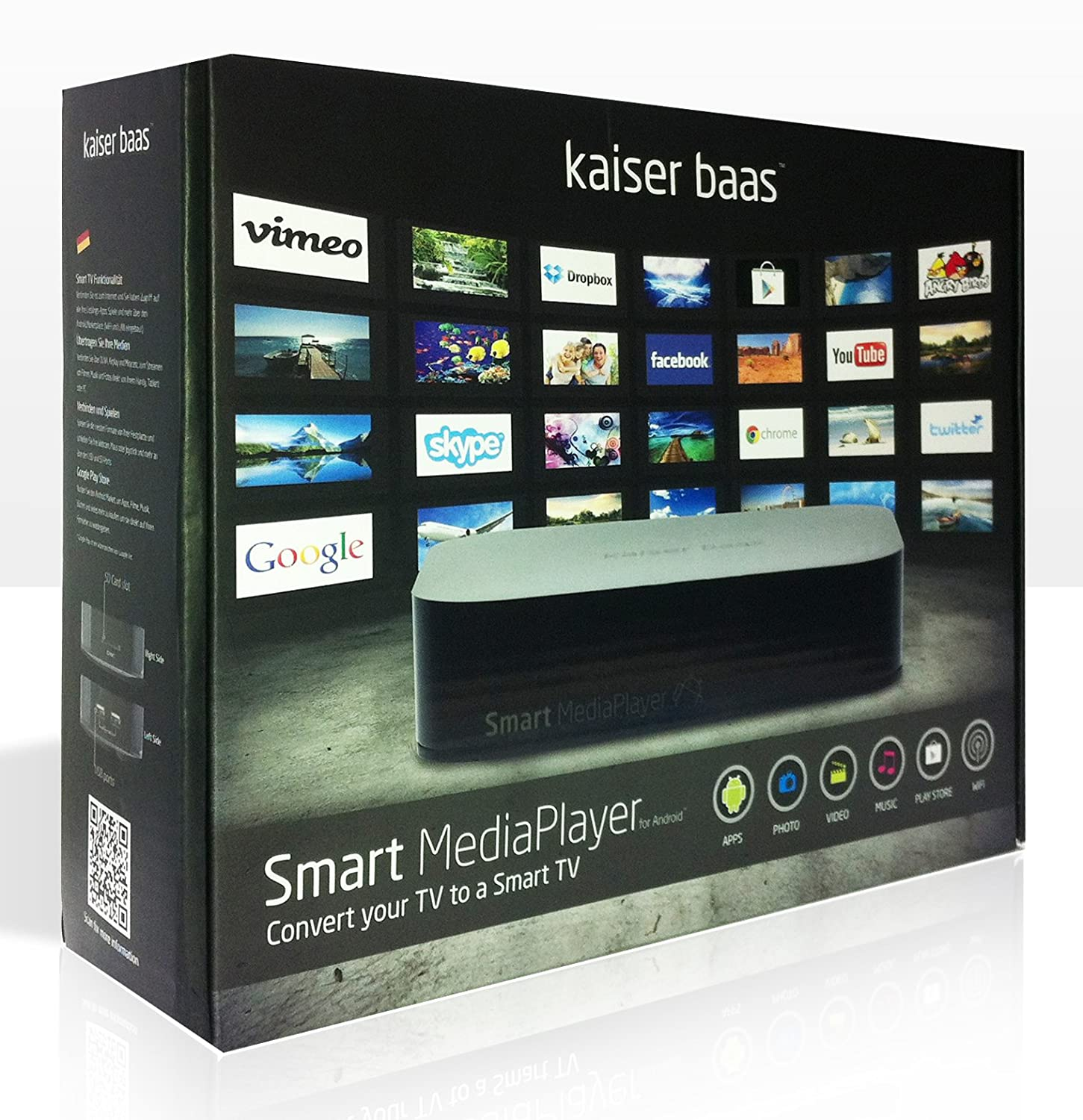 kaiser baas smart media player manual