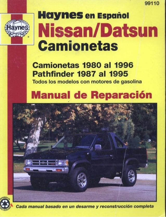 1994 nissan pickup service manual pdf