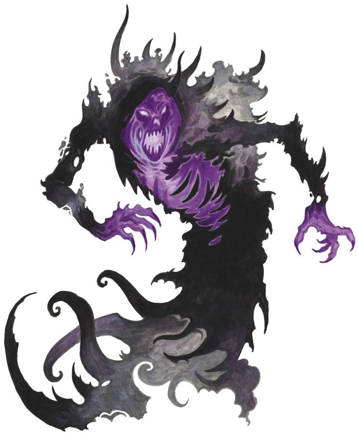 spectral creatures d&d 5e monster manual