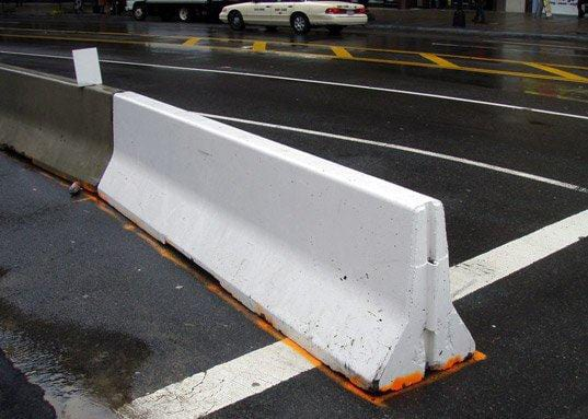 roadside safety manual guardrail requirement