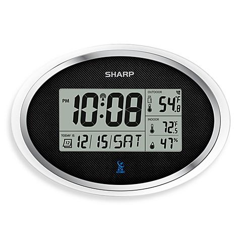 sharp retro digital clock with usb manual