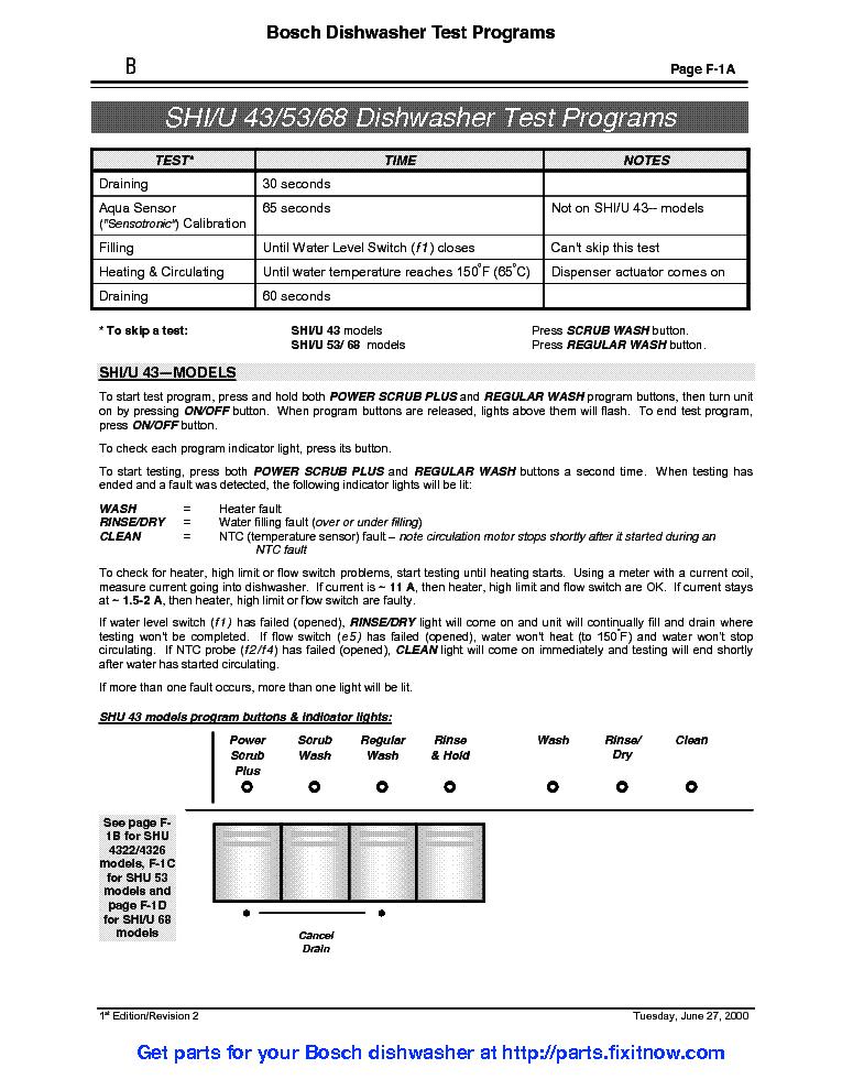 bosch dishwasher model she4am02uc manual