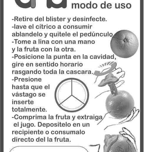 manual citrus juicer model 932