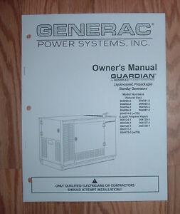 generac model qt02516ansn parts manual