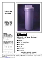 kenmore water softener manual ultrasoft 800