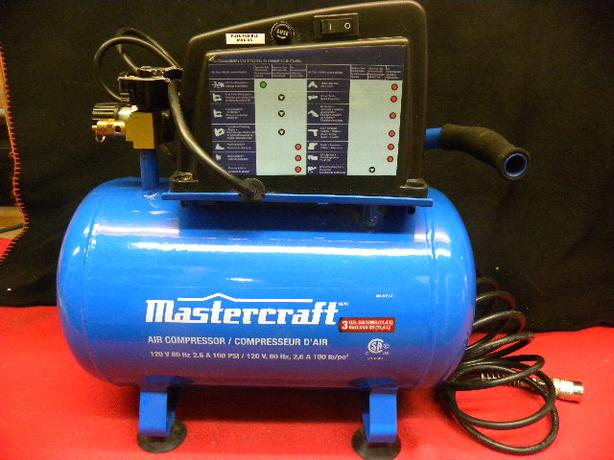 mastercraft air compressor 2 gallon manual