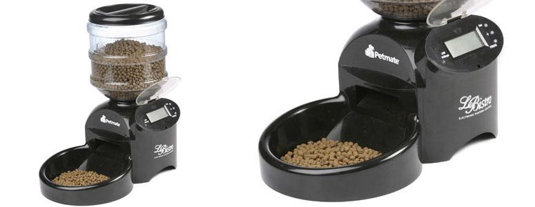 le bistro automatic cat feeder manual