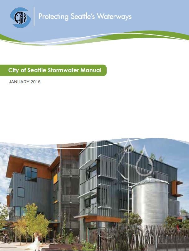 city of seattle stormwater manual 2016