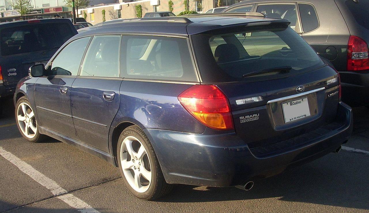 legacy gt wagon 2005 manual